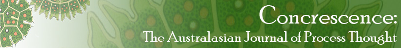 Concrescence: The Australasian Journal of Process Thought